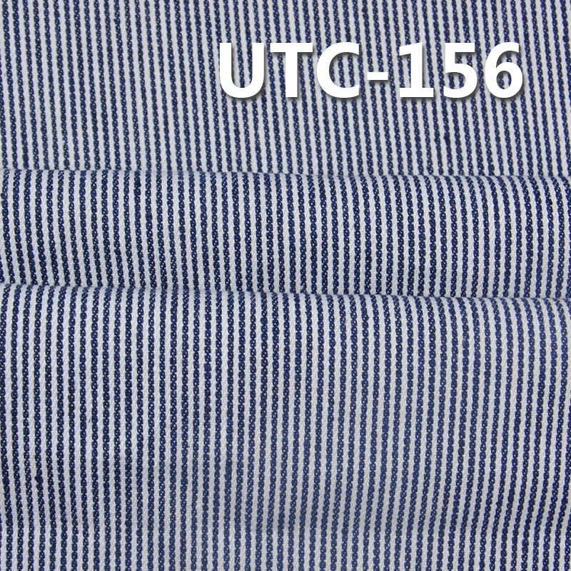 "UTC-156 65%Cotton 35%Polyester 2/1 ""z""  Twill yarn-dyed  Stripes Fabric 295g/m2 58/59"""