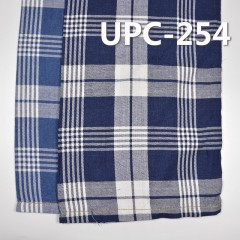 "100%Cotton Indigo Yarn-dyed Apron Check 136g/m2 57/58"" UPC-254"