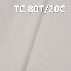"TC Twill Pocket Fabric 108*58/21*21 T80/C20 198g/m2 58""57/58"""