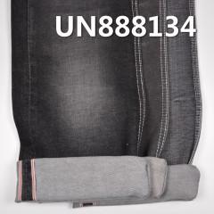 """UN888134  99%COTTON1%SPX Selvedge Denim 32/34"""" 11.7oz(#3 black)"""