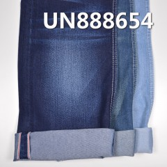 "UN888654 25.1%POLYESTER 74.9%COTTON Selvedge Denim TWILL  30/31"" 10.5oz"