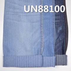 "UN88100 Stretch polyester denim strip denim 55/56""  8.1oz"