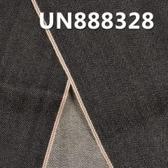 """UN888328 100% Cotton Slub Selvedge Denim Twill 30/31"""" 12oz (black)"""