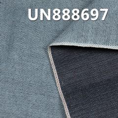 """100% Cotton Slub Yarn Dyed Selvedge Denim Twill UN888697 31/32"""" 13.8oz"""