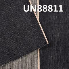 UN88811 100% Cotton Slub Selvedge Denim Twill 32'' 13.5oz blue