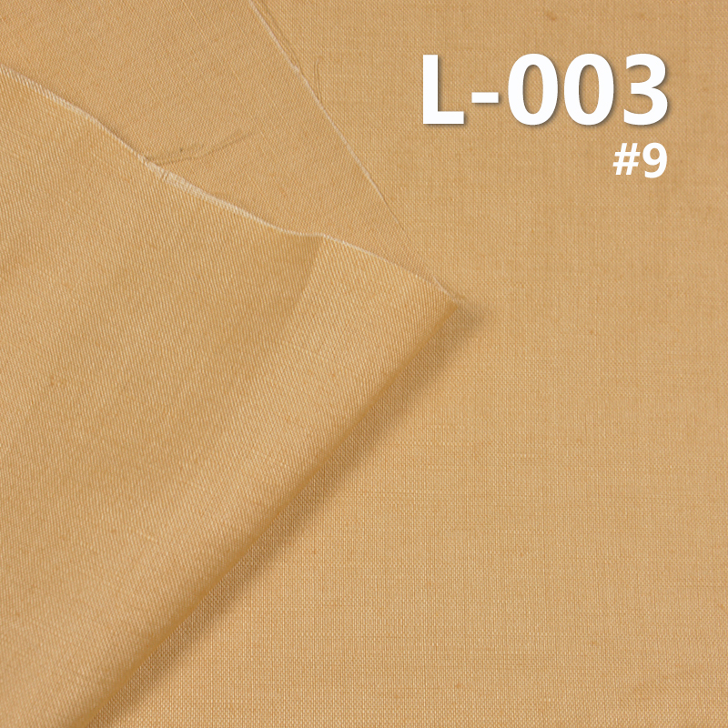 """L-003 100%LINEN DYED FABRIC 190g/m2 55/56"""""""