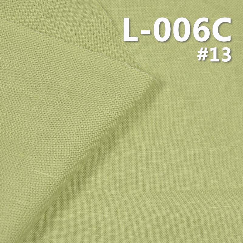 """L-006C 55%Linen 45%Cotton dyed fabric 160g/m2  43/44"""""""