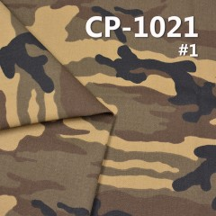 CP-1021 Cotton Twill Camouflage Flower 58 ""