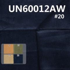 "UN60012AW  98%Cotton 2%Spandex 14W Dyed Washing  Corduroy 345g/m2 56/57"""