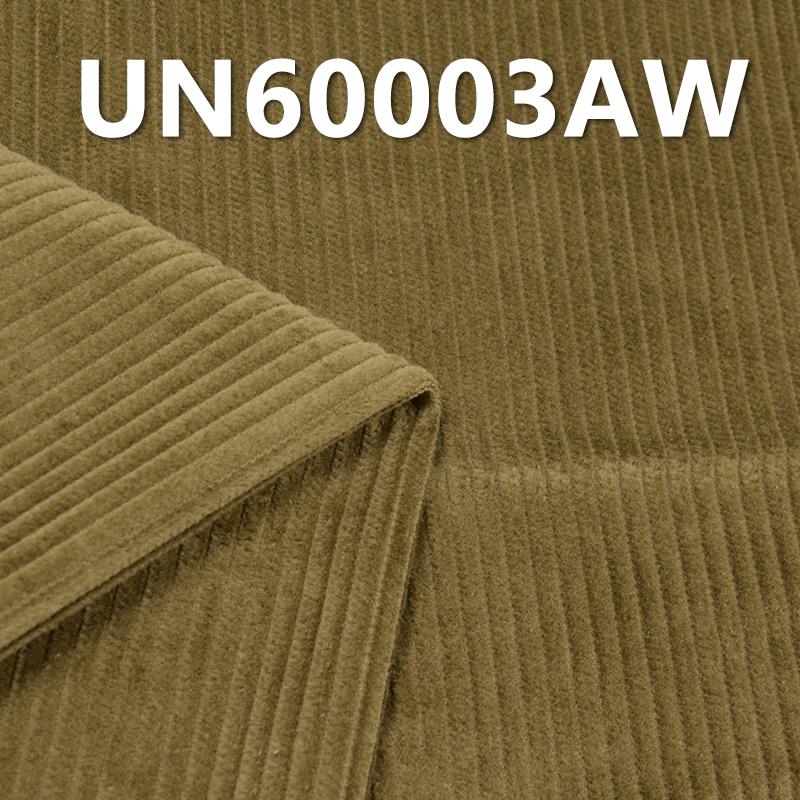 """100% Cotton Dyed Corduroy 6W 4H Washing 295g/m2 57/58"""" UN60003AW"""