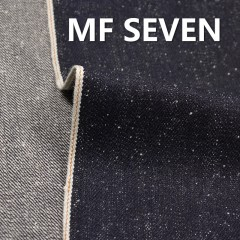 "100% Cotton Slub Pearl Yarn Selvedge Raw Denim 32/33"" 15OZ MF SEVEN"