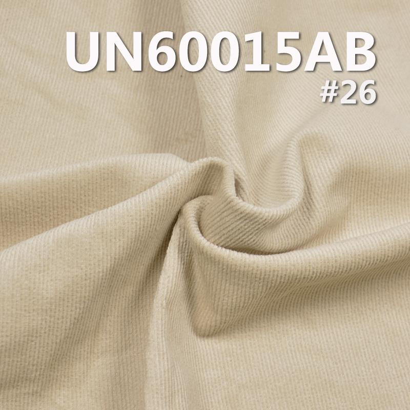 UN60015AB 98%Cotton /2%SPandex Stretch Dyed Corduroy 16W Brushing