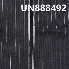 "100% Cotton Stripe Blue Fill Back Selvedge Denim 32/33"" 13oz UN888492"