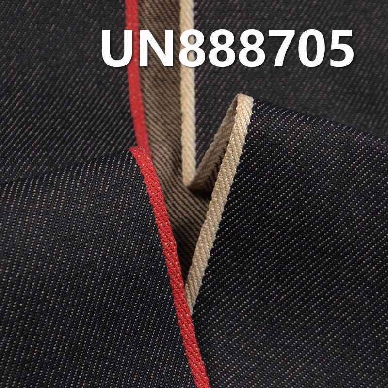 "100% Cotton Yarn Dyed Selvedge Denim Broken Twill 35/36"" 11.5OZ UN888705"