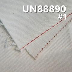 "UN88890 100% Cotton Slub Selvedge Denim Twill 32"" 10OZ (White)"