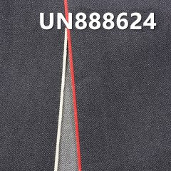 "UN888624 100% Cotton White and Red  Selvedge Denim Twill 32/33""14OZ"