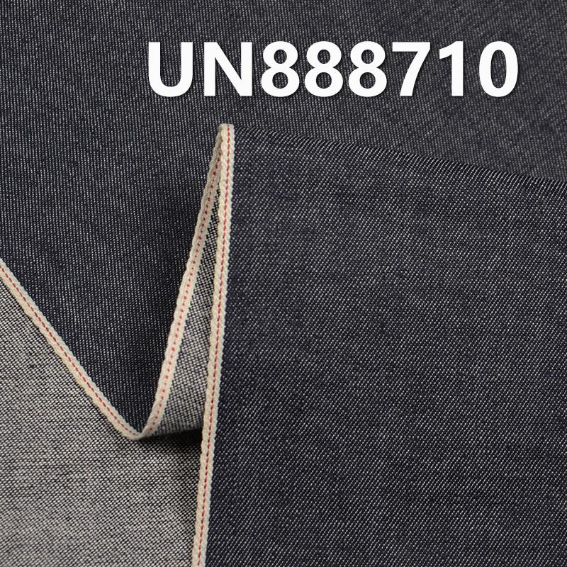 """UN888710 98.8% Cotton 1.2% Spandex Slub Selvedge Denim  30/31"""" 8OZ"""
