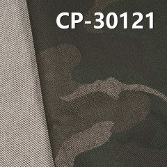 "65% Cotton 34%Polyester 1%Sp Dyed Twill+Printing 300g/m2 53/54"" CP-30121"