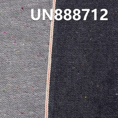 "37%Polyester 63%Cotton Slub Selvedge Denim 12OZ 31/32"" UN888712"