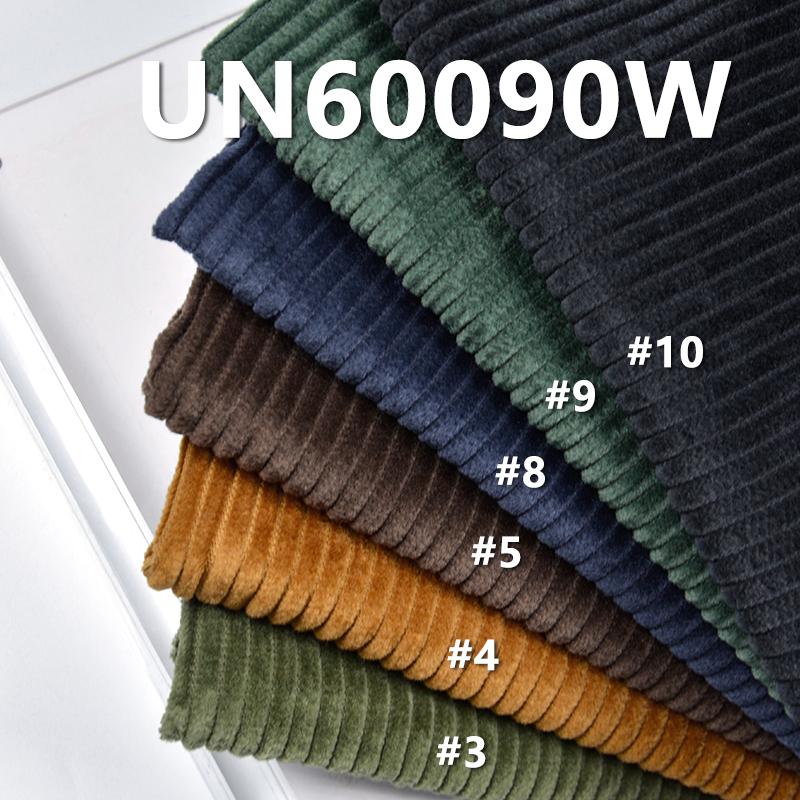 "100% Cotton Dyed  Corduroy 4.5W  Wasghing 57/58"" 300g/m2 UN60090W"