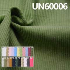 "UN60006 100% Cotton Dyed Corduroy 8W  43/44"" 295g/m2"