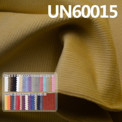 "UN60015 98%Cotton 2%Spandex Stretch Dyed Corduroy 16W 43/44"" 310g/m²"