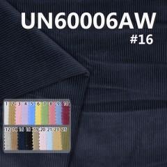 """UN60006AW 100% Cotton Dyed  Washing Corduroy 8W 4H 57/58"""" 293g/m2"""