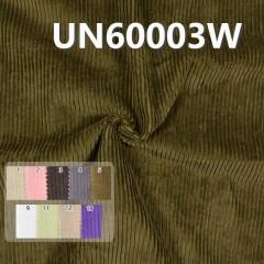 """UN60003W 100% Cotton Dyed Corduroy 6W 8H  43/44"""" 310g/m2"""