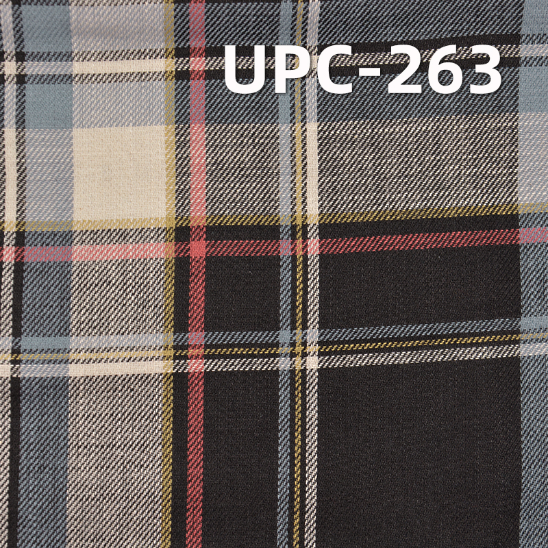 """100% Cotton Yarn Dyed Fabric 4.7OZ 57.5"""" UPC-263"""