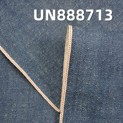 "100% Cotton Slub Pearl Yarn Selvage Denim ""S"" Twill 30/31"" 13.2OZ UN888713"