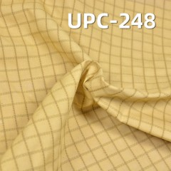 "UPC-248 7.8% Conductive Filament 92.2% Cotton Functional Fabric Plain 62/63"" 4.5"