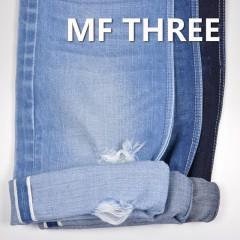 "MF THREE 100% Cotton Selvedge Raw Denim Twill  Dark Bllue 34/35"" 15.3OZ"