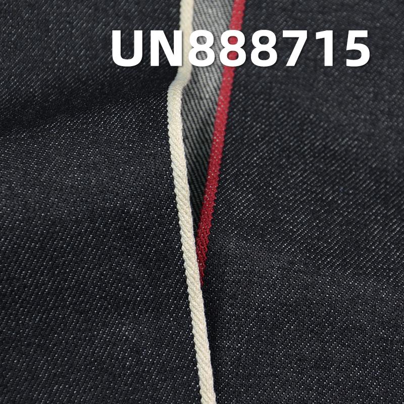 "selvedge denim fabric100% Cotton Dark Indigo Blue Denim Twill 3/1 Twill 11.5OZ   32/33"" UN888715"